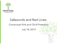 Safewords and Red Lines webinar
