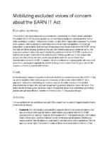 EARN IT concept note