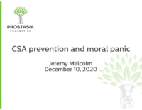 CSA prevention and moral panic