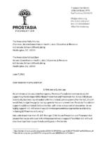 Letter re Jenna Quinn law